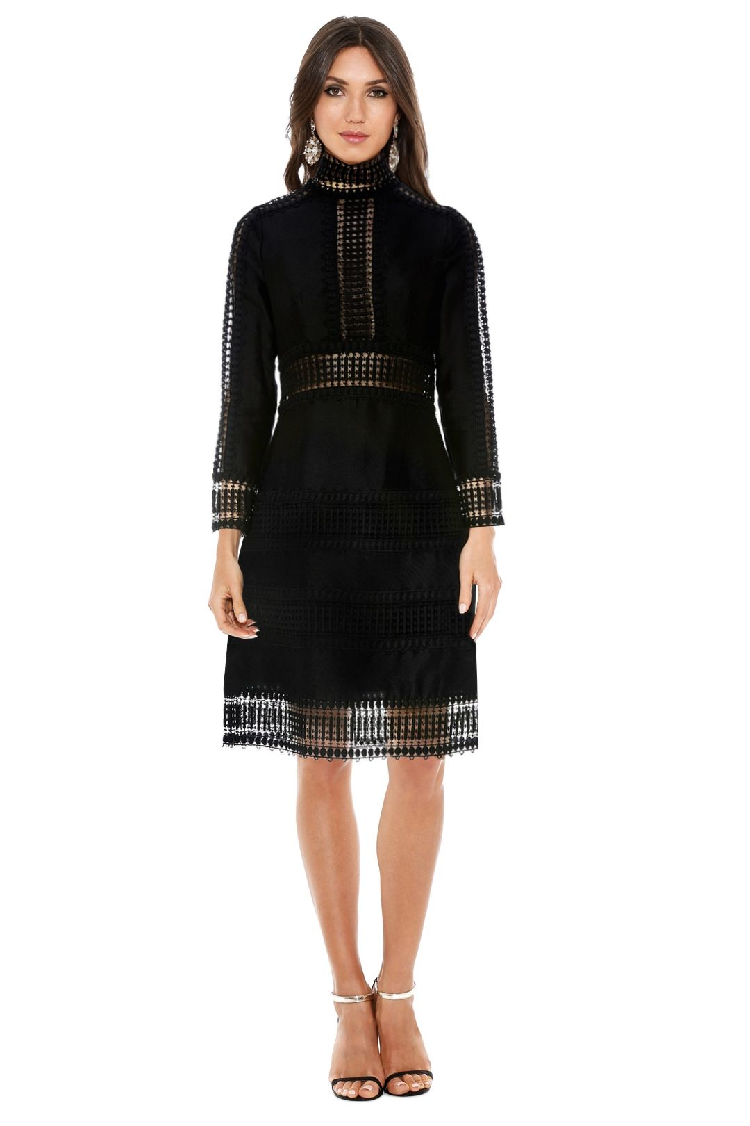Thurley - Salvadore Mini Dress - Black - Front