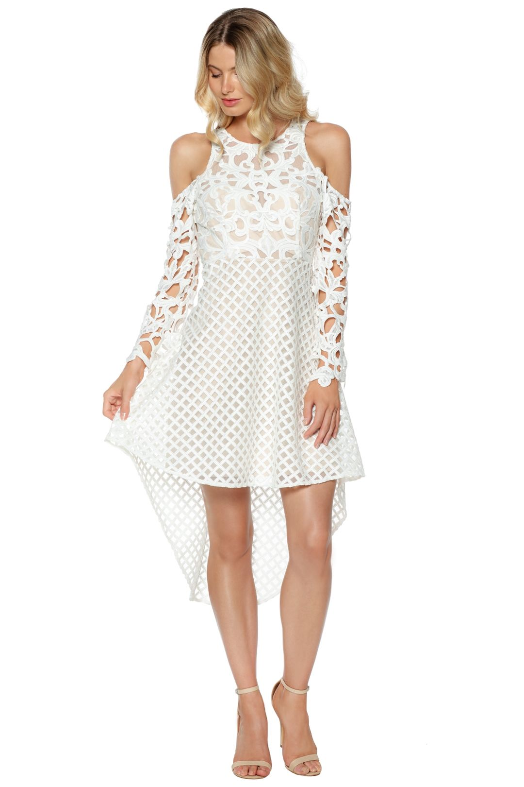 Thurley - Trulli Dress - White - Front