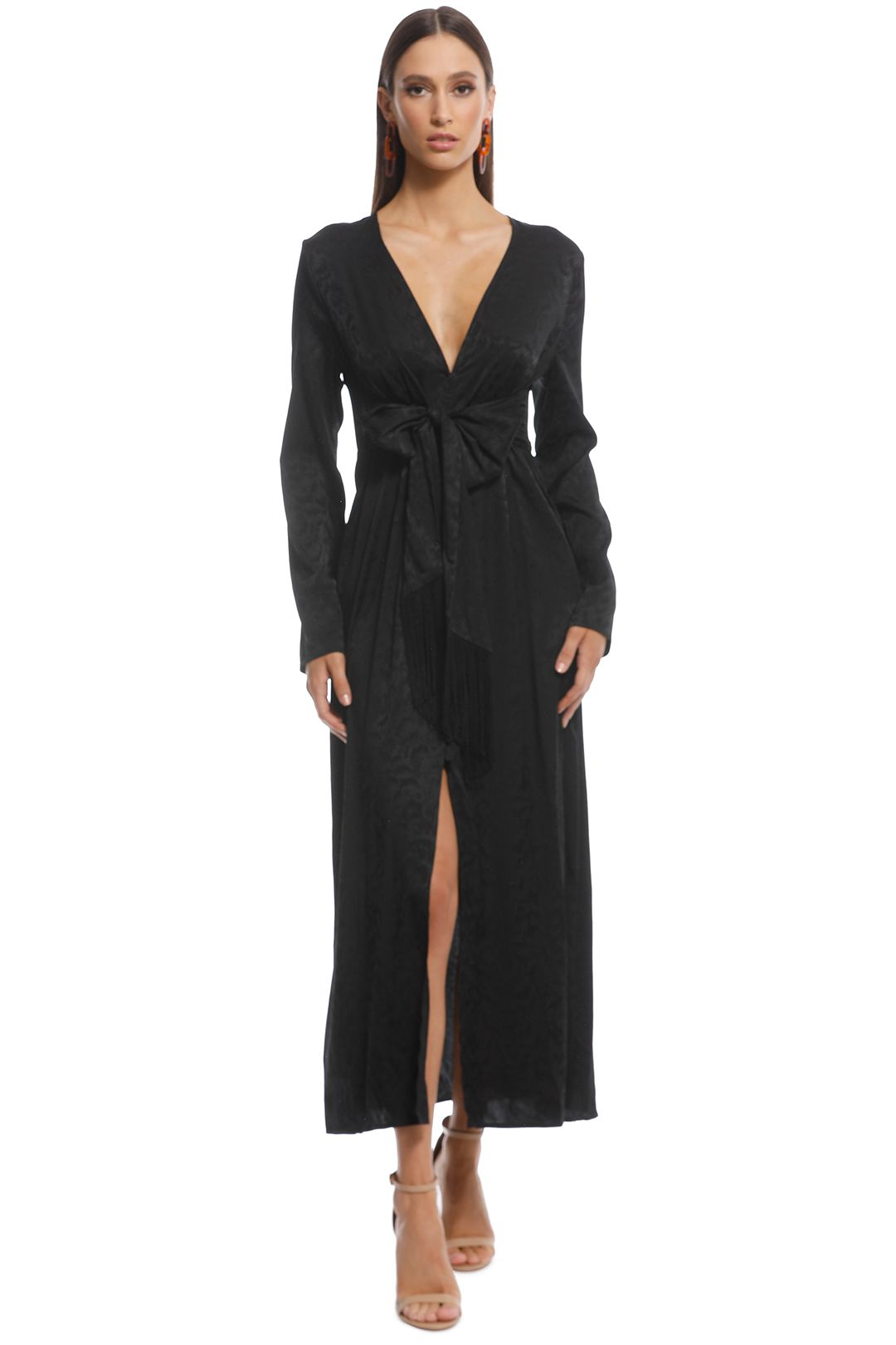 Thurley - Violeta Dress - Black - Front