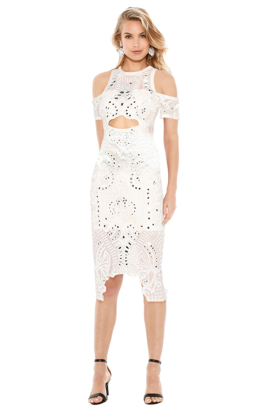 Thurley - Wild Heart Dress - Ivory - Front