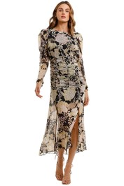 Thurley Aphrodite Long Sleeves Dress floral