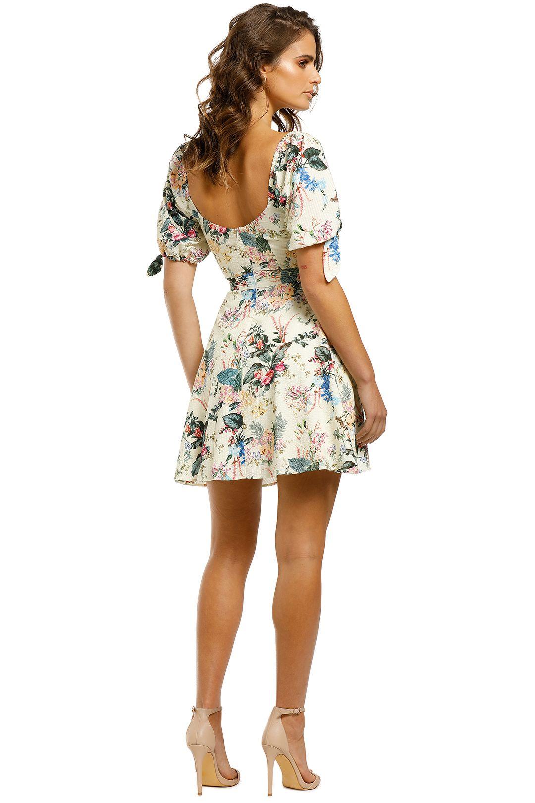 Tigerlily-Kalani-Short-Dress-Floral-Back
