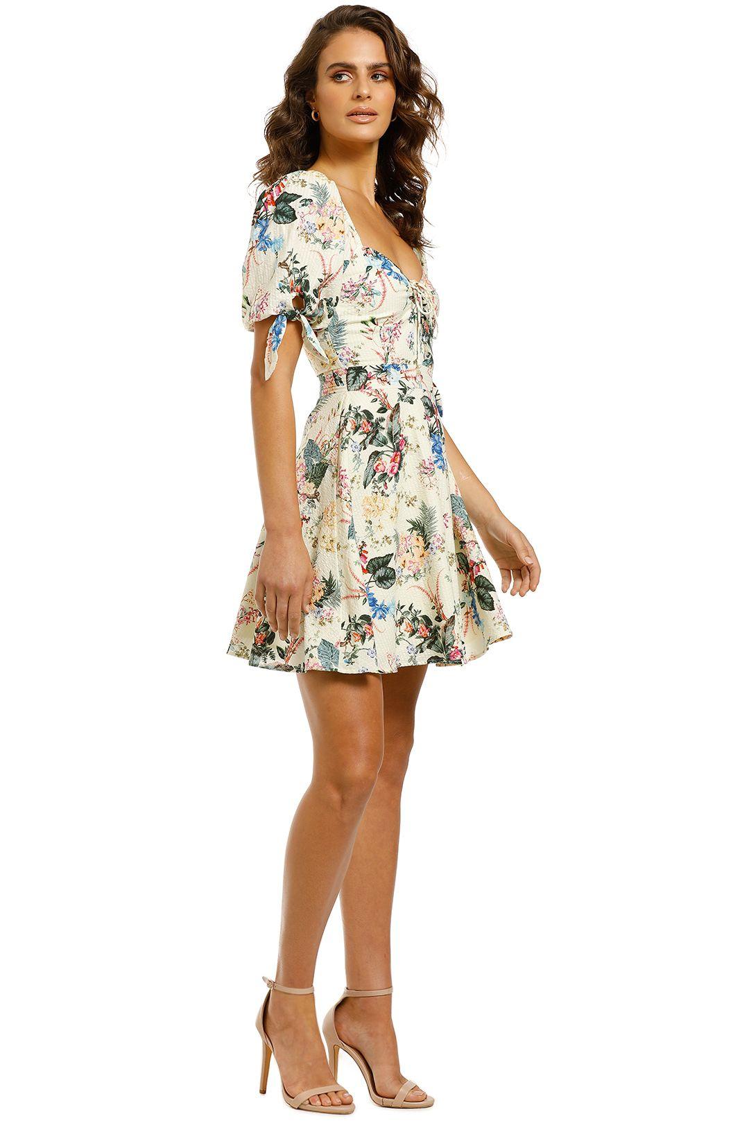 Tigerlily-Kalani-Short-Dress-Floral-Side