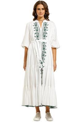 Tigerlily-Villaya-Linen-Maxi-Dress-White-Front