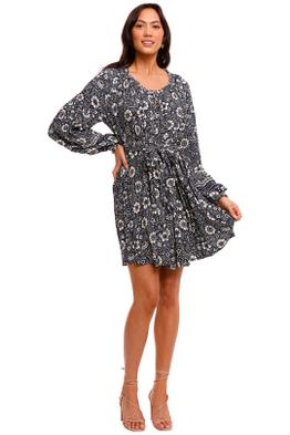 Tigerlily Valda Tarani Mini Dress long sleeve
