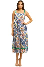 Trelise-Cooper-Postcards-from-Portofino-Dress-Tile-Print-Front