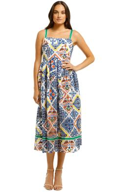 Trelise-Cooper-Postcards-from-Portofino-Dress-Tile-Print-Front