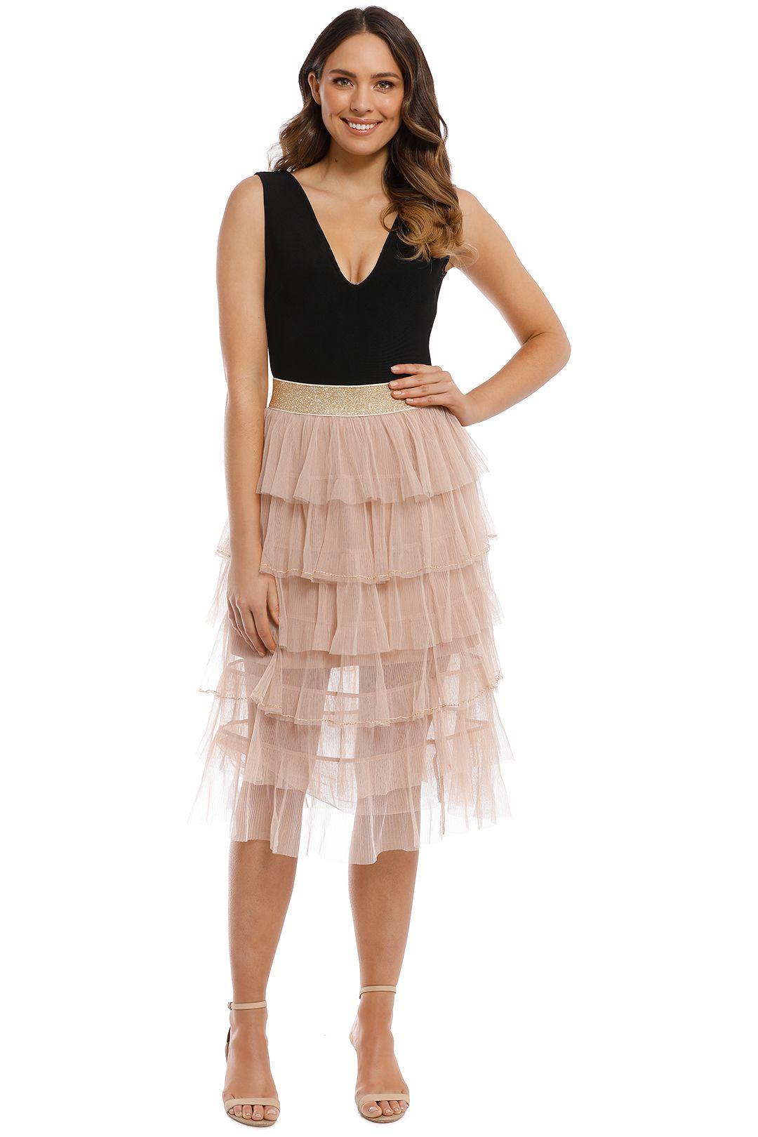 Trelise Cooper - Layer Upper Layer Skirt - Vintage Nude - Front