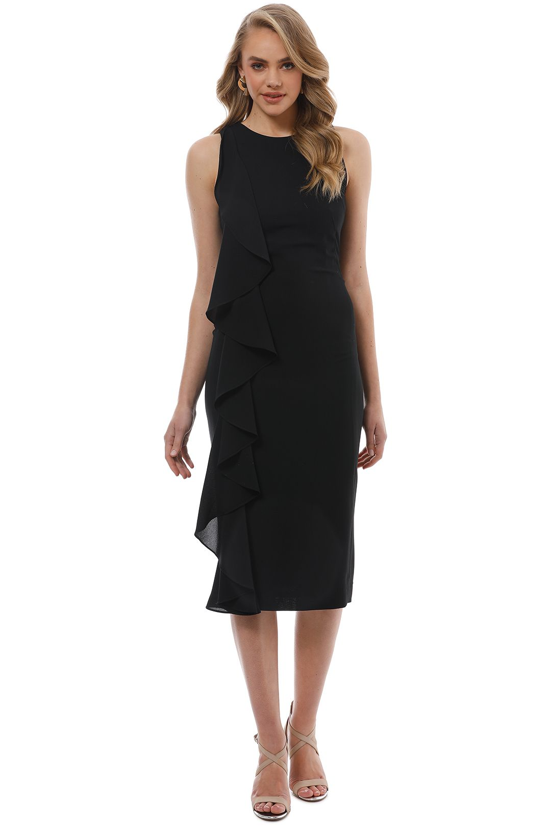 Trelise Cooper - Light My Fire Dress - Black - Front