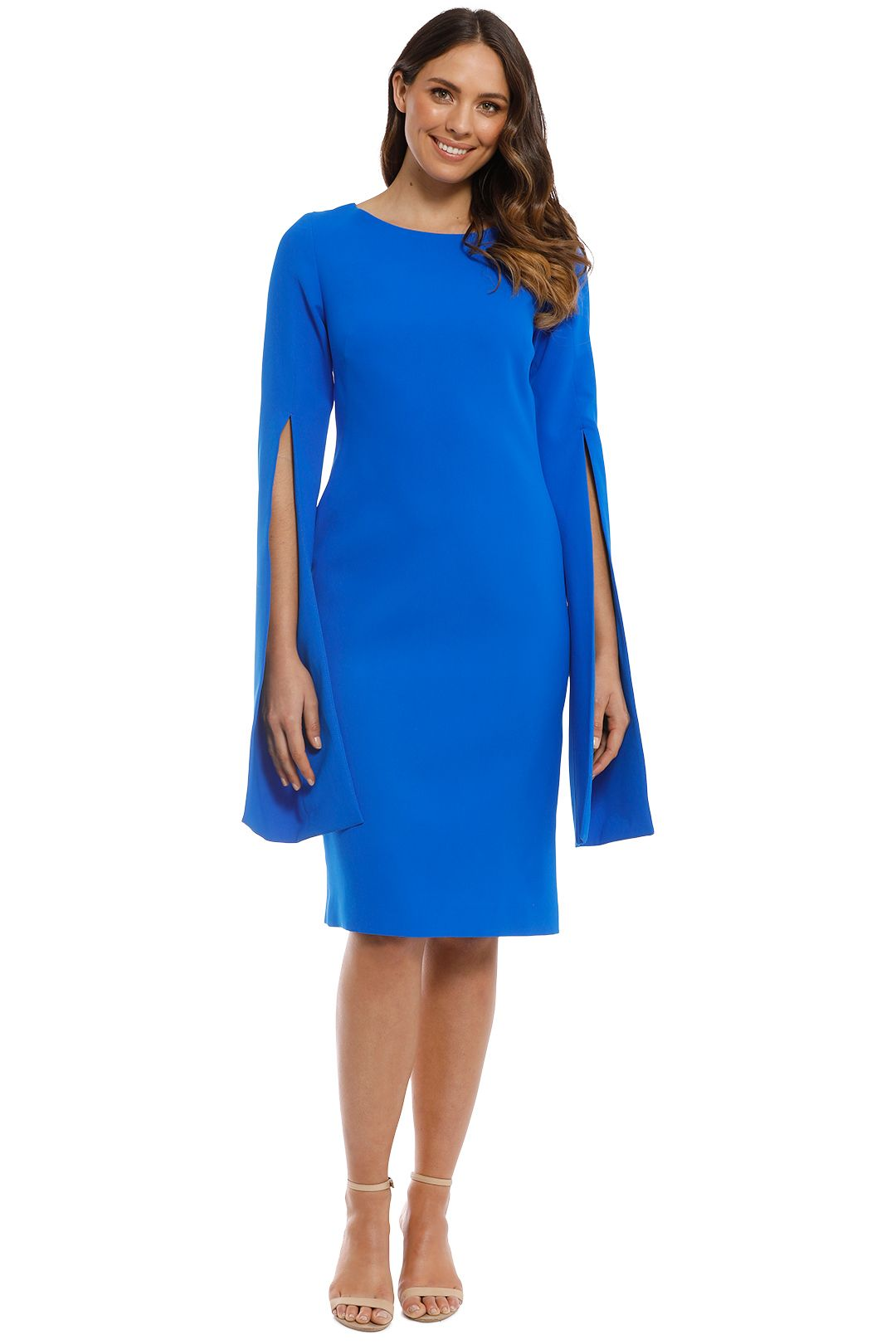Trelise Cooper - Up Your Sleeve Dress - Cobalt - Front