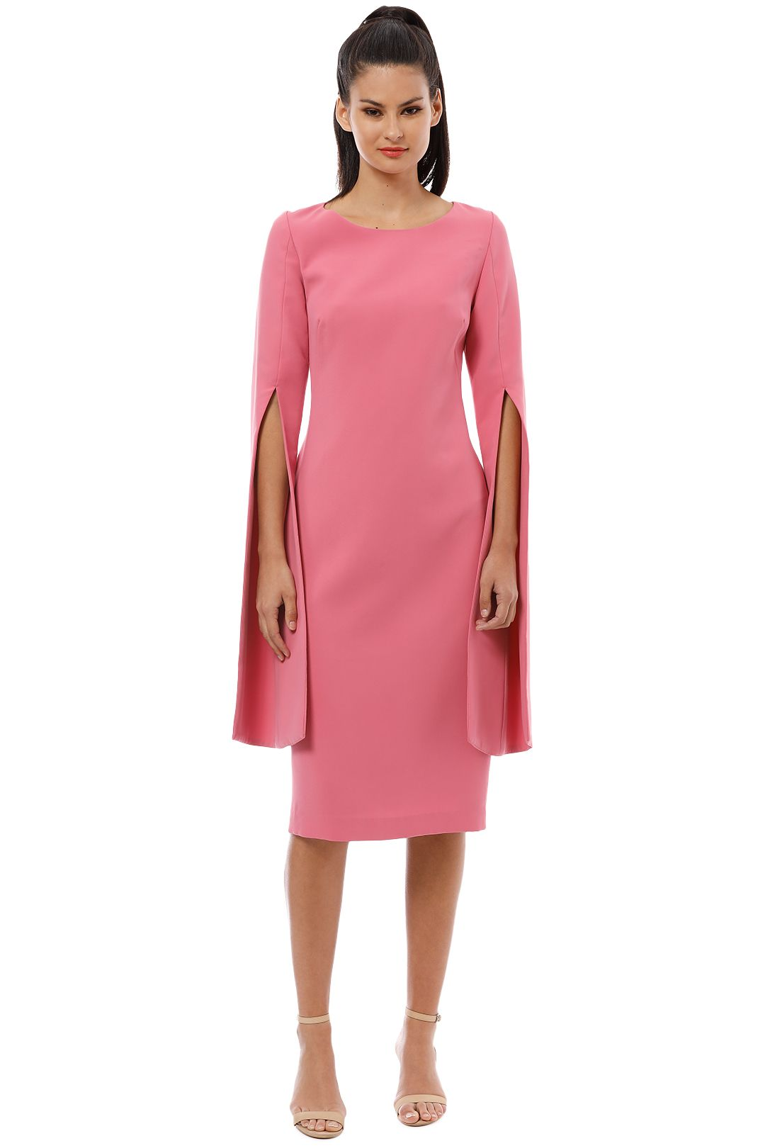 Trelise Cooper - Up Your Sleeve Dress - Pink - Front