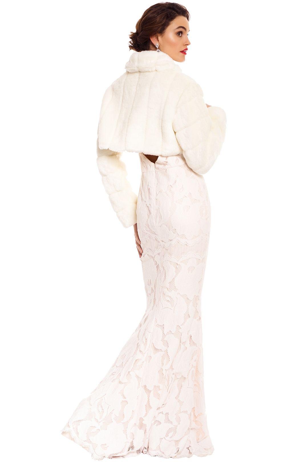 Tulip Bridal - Fayth Bolero - Ivory - Back