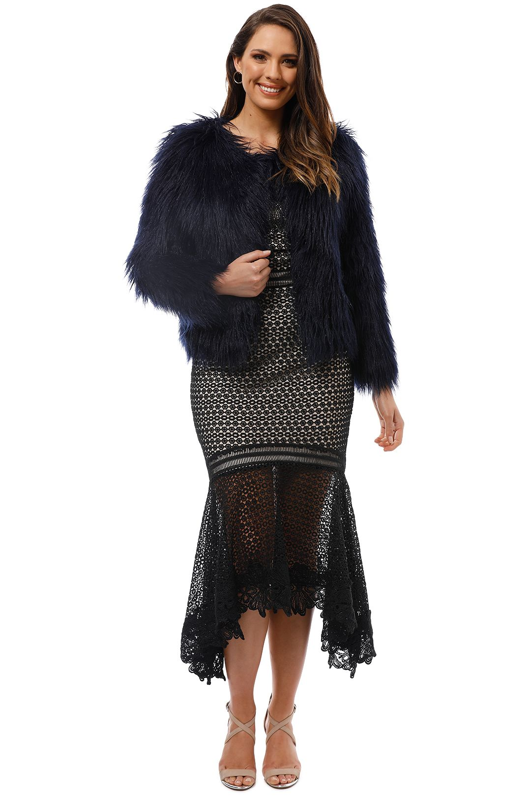 Unreal Fur - Unreal Dream Jacket - Navy - Front