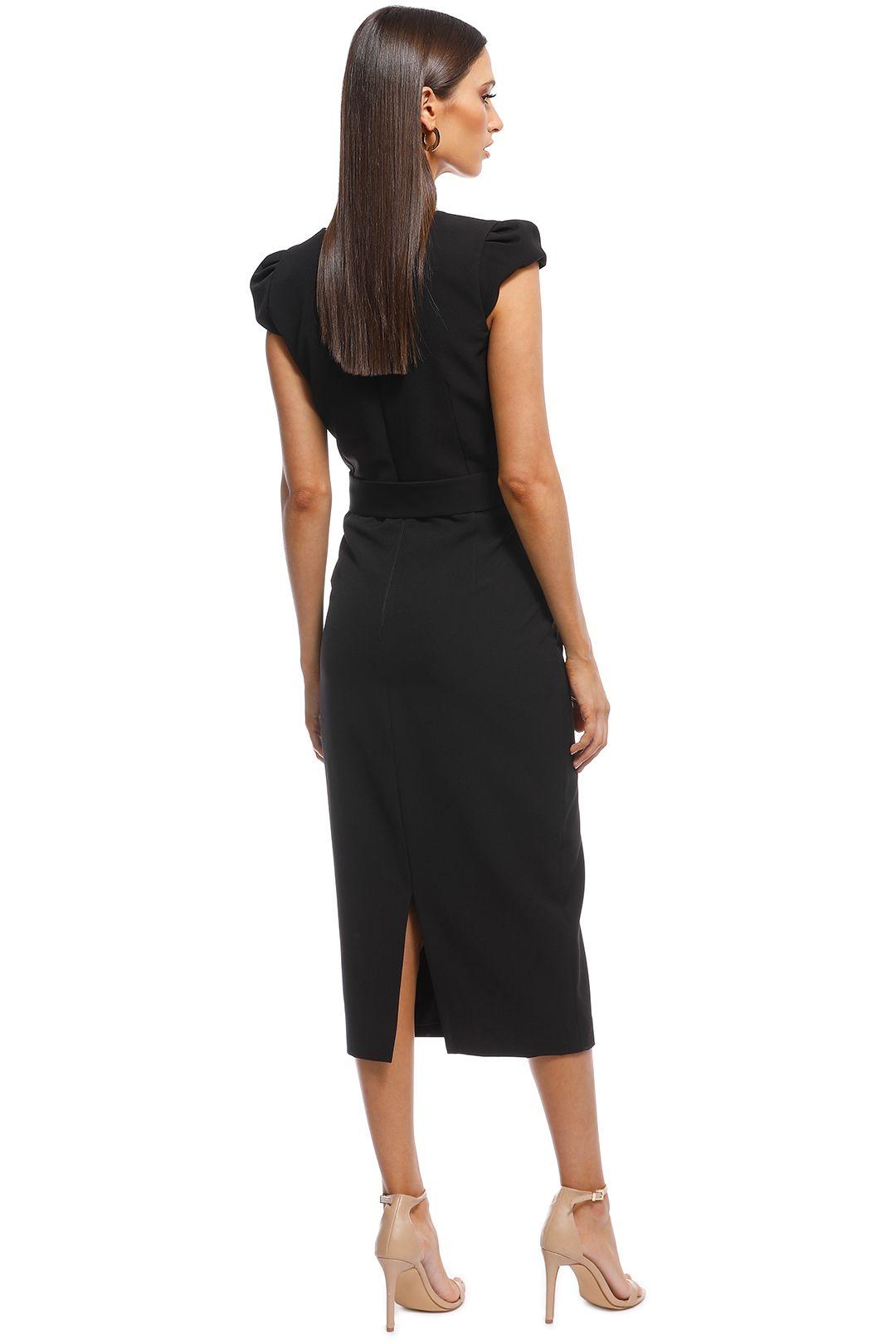 Unspoken - Audrey Dress - Black - Back