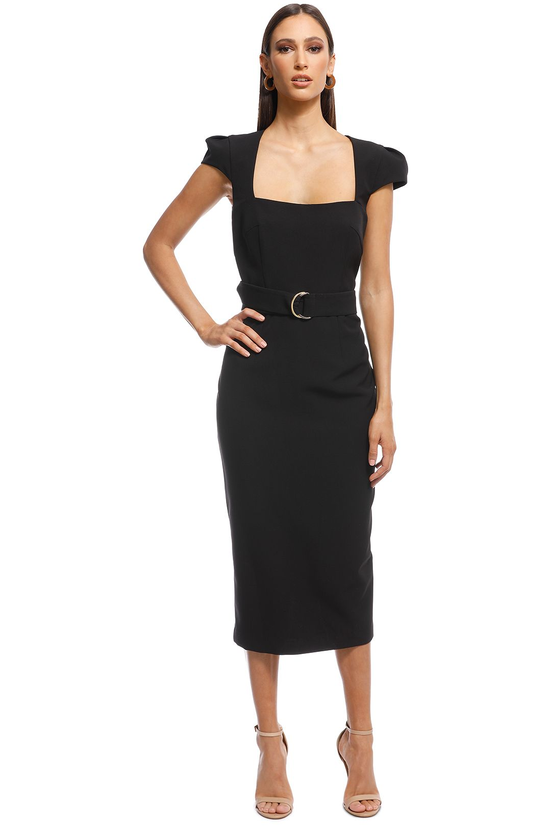 Unspoken - Audrey Dress - Black - Front