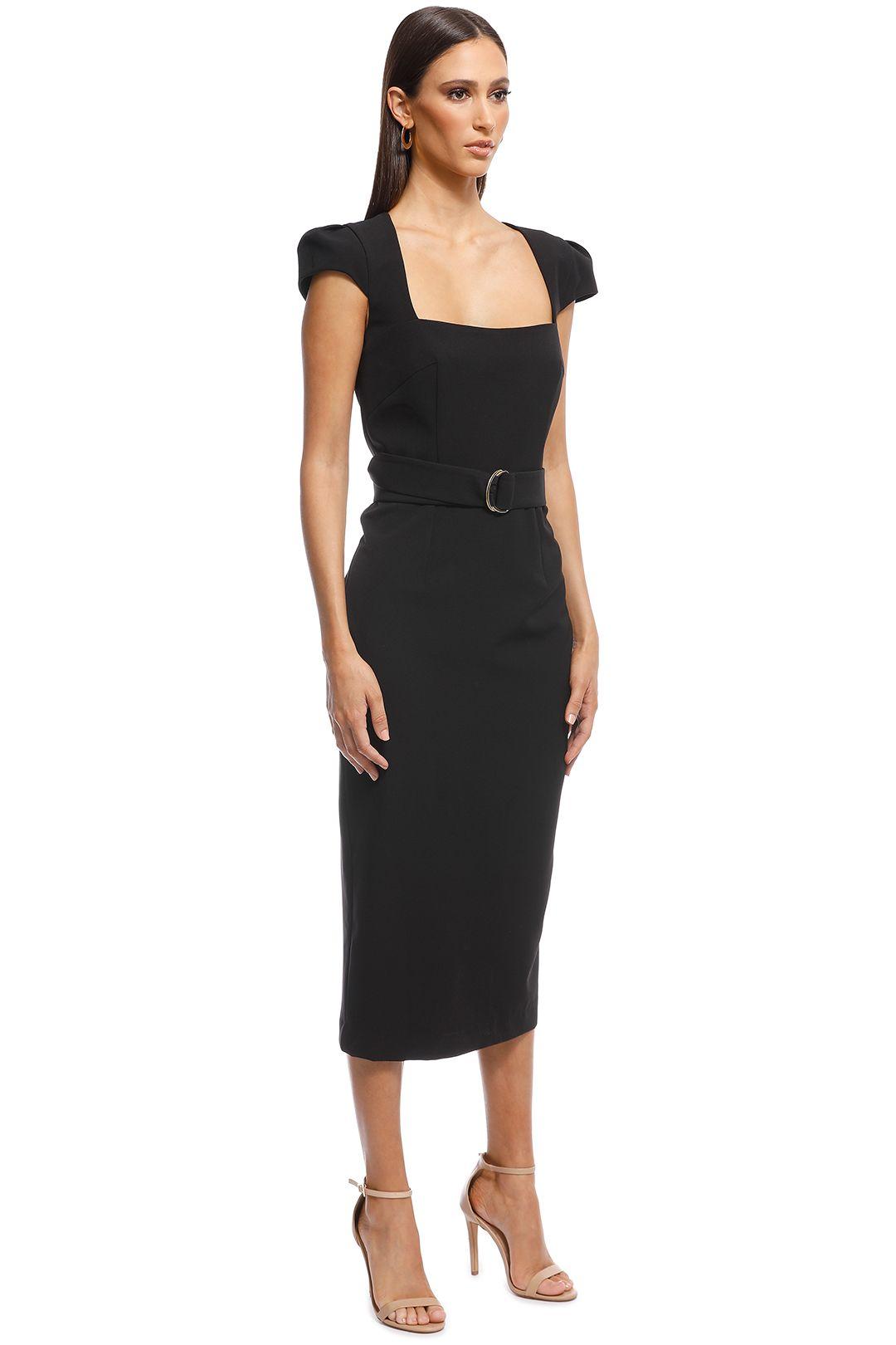 Unspoken - Audrey Dress - Black - Side
