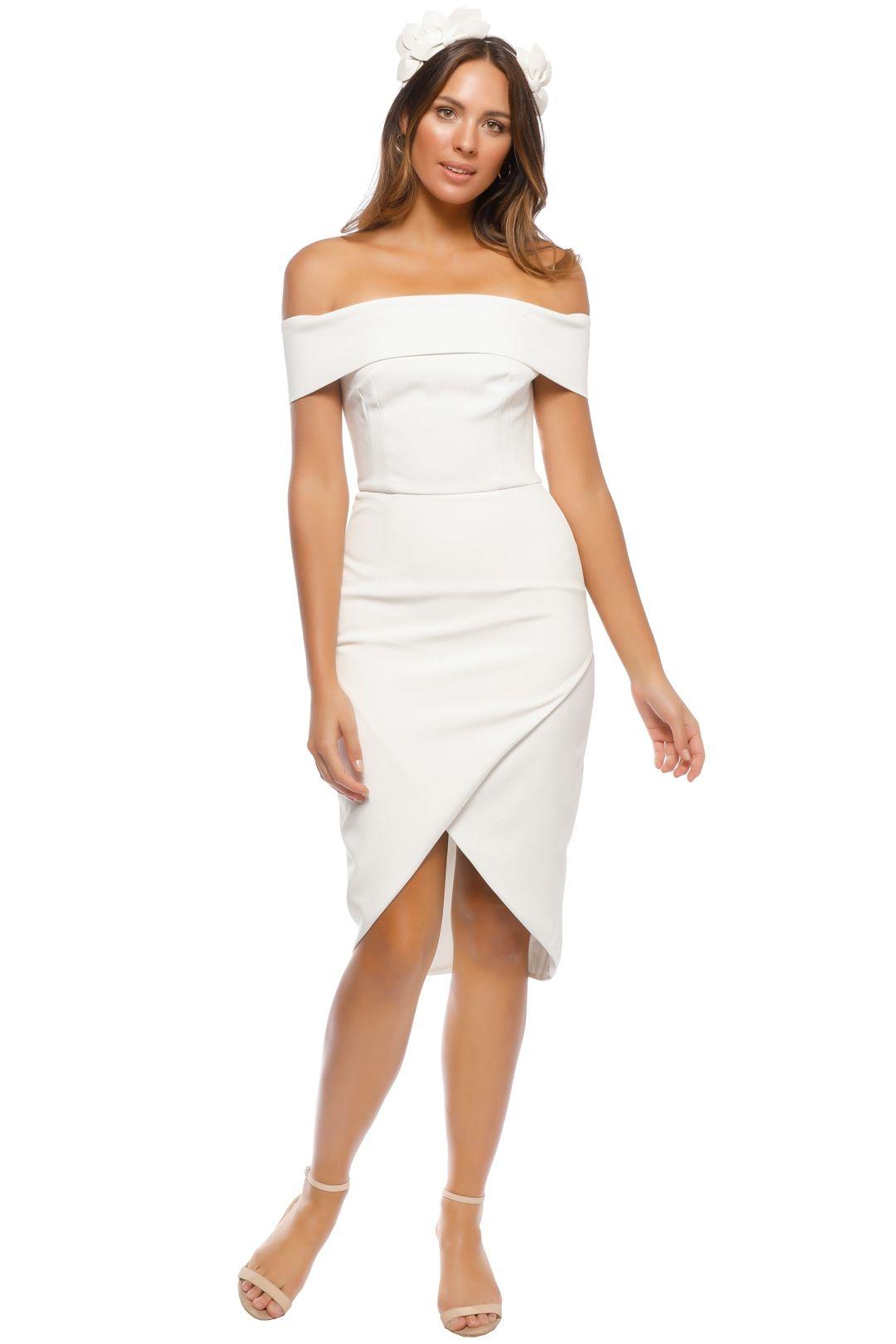 Unspoken - Jamai Short Dress - Ivory - Front