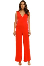 Vestire-Dancing-in-Flames-Jumpsuit-Red/Pink-Front