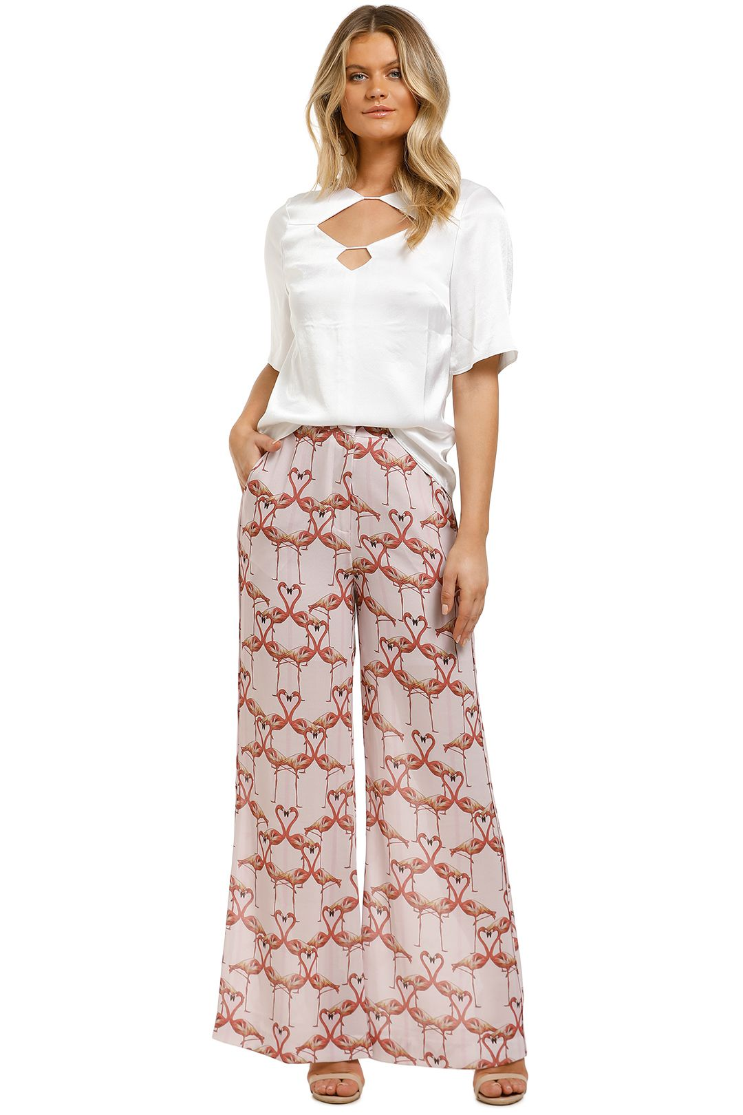 Vestire-Flamingo-Hearts-Pants-Print-Front