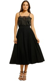 Vestire-Just-A-Little-Crush-Midi-Skirt-Black-Front