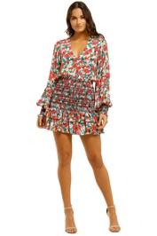 Vestire-Little-Havana-LS-Mini-Dress-Floral-Print-Front