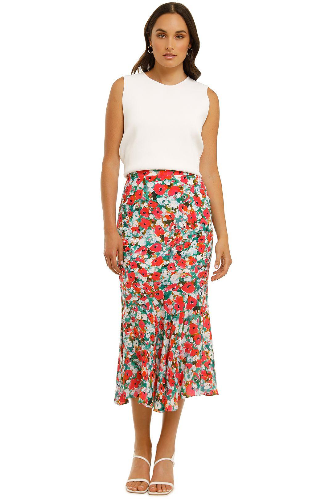 Vestire-Little-Havana-Skirt-Floral-Print-Front