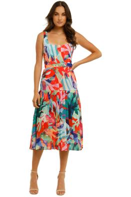 Vestire-Miami-Nights-Midi-Dress-Miami-Print-Front
