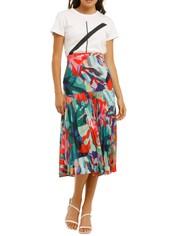 Vestire-Miami-Nights-Midi-Skirt-Miami-Print-Front