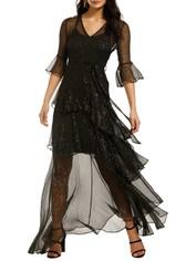 We-Are-Kindred-Arabella-Silk-Maxi-Dress-Black-Front