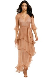 We-Are-Kindred-Arabella-Silk-Maxi-Dress-Rose-Front