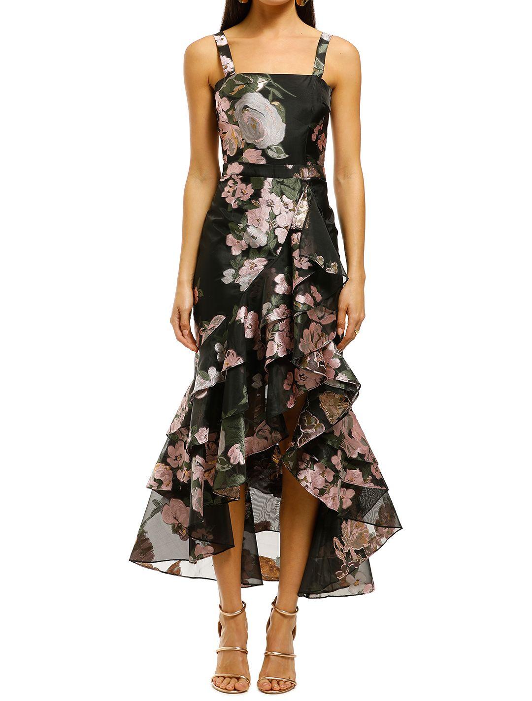 We-Are-Kindred-Claudette-Maxi-Dress-Black-Rose-Front