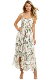 We-Are-Kindred-Frankie-Pleated-Dress-Ecru-Delphinum-Front
