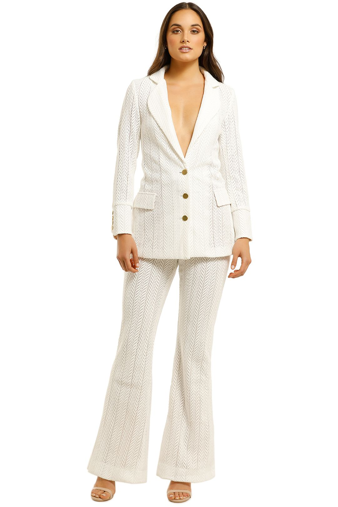 We-Are-Kindred-Marbella-Blazer-and-Pant Set-Frost-Front