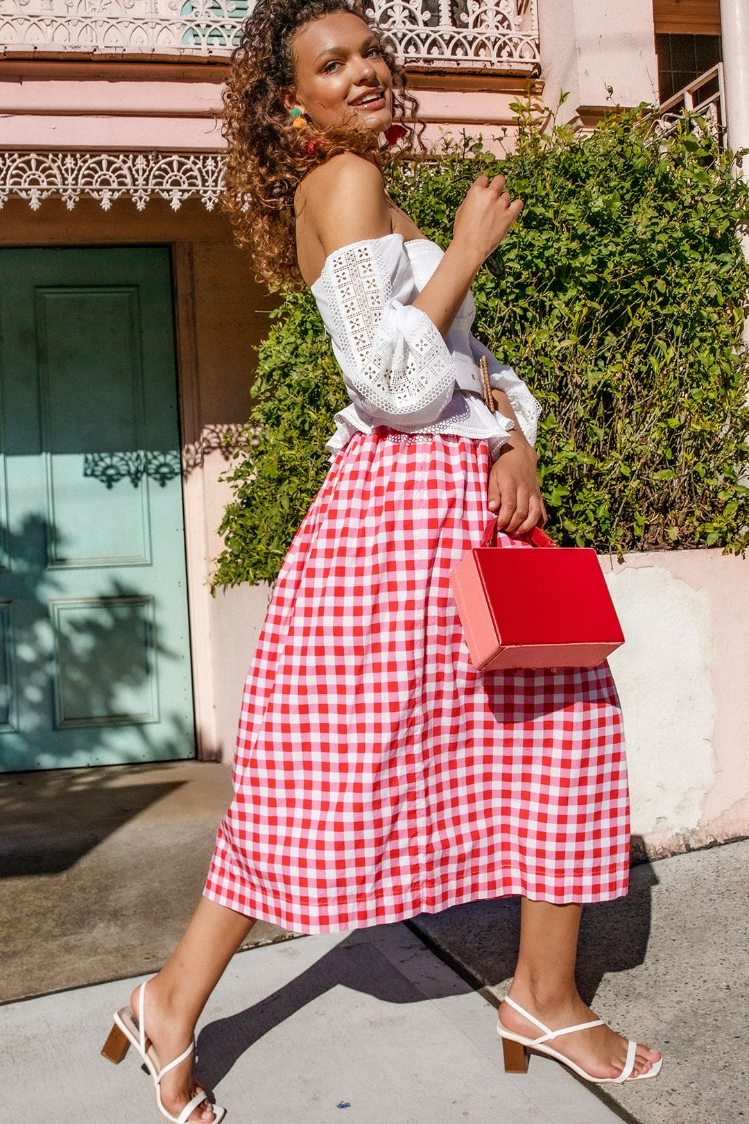 swf-button-down-midi-skirt-gingham-floss-pink-campaign