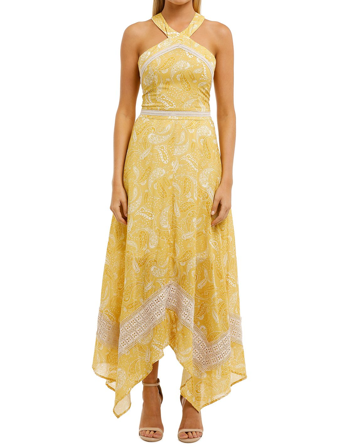 We-Are-Kindred-Sorrento-Midi-Dress-Sunflower-Paisley-Front