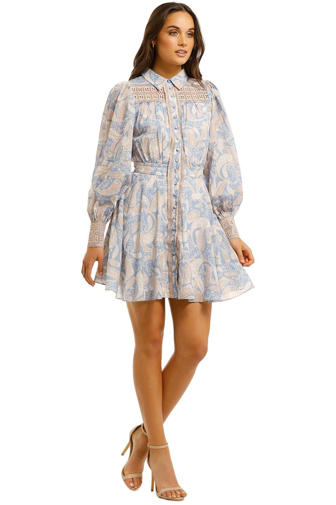 We-Are-Kindred-Sorrento-Mini-Dress-Cornflower-Paisley-Side
