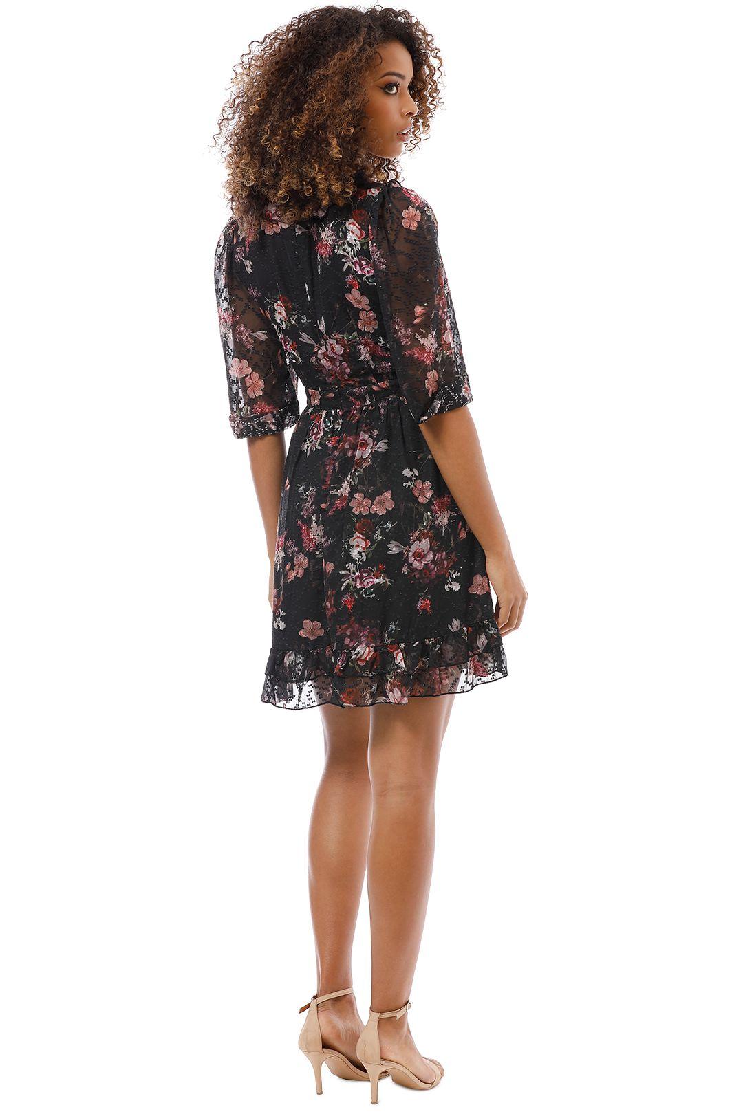 We Are Kindred - Aurelie Mini Dress - Midnight Garden - Back