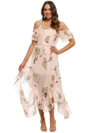 We Are Kindred - Country Field Maxi Dress - Blush - Front
