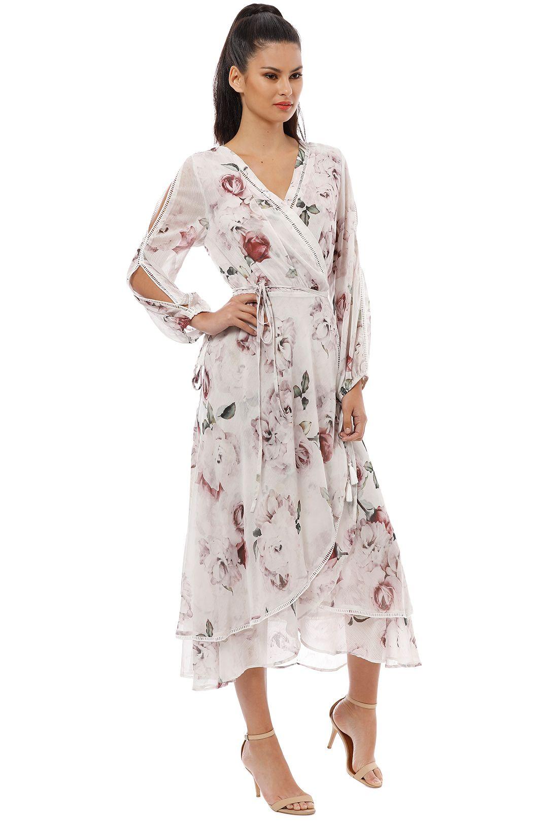 We Are Kindred - Jemima Primrose Dress - White Rose - Side