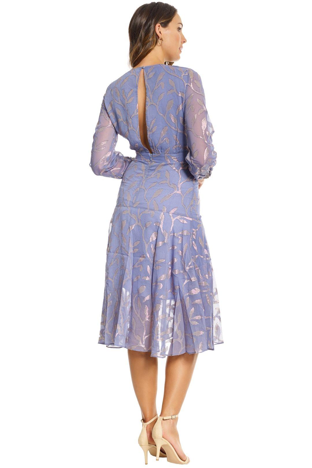 We Are Kindred - Luella Leaf Dress - Steele - Back