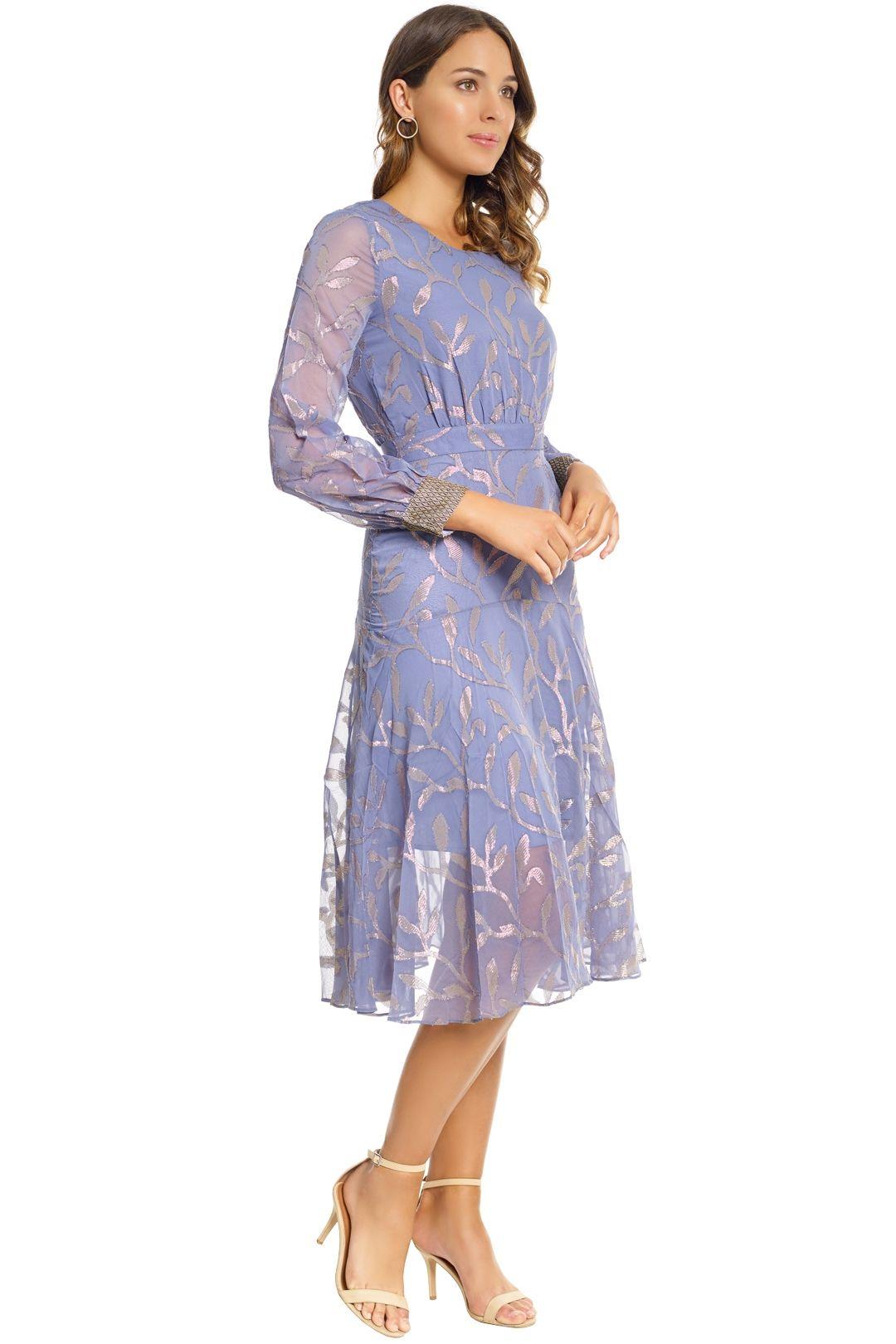 We Are Kindred - Luella Leaf Dress - Steele - Side