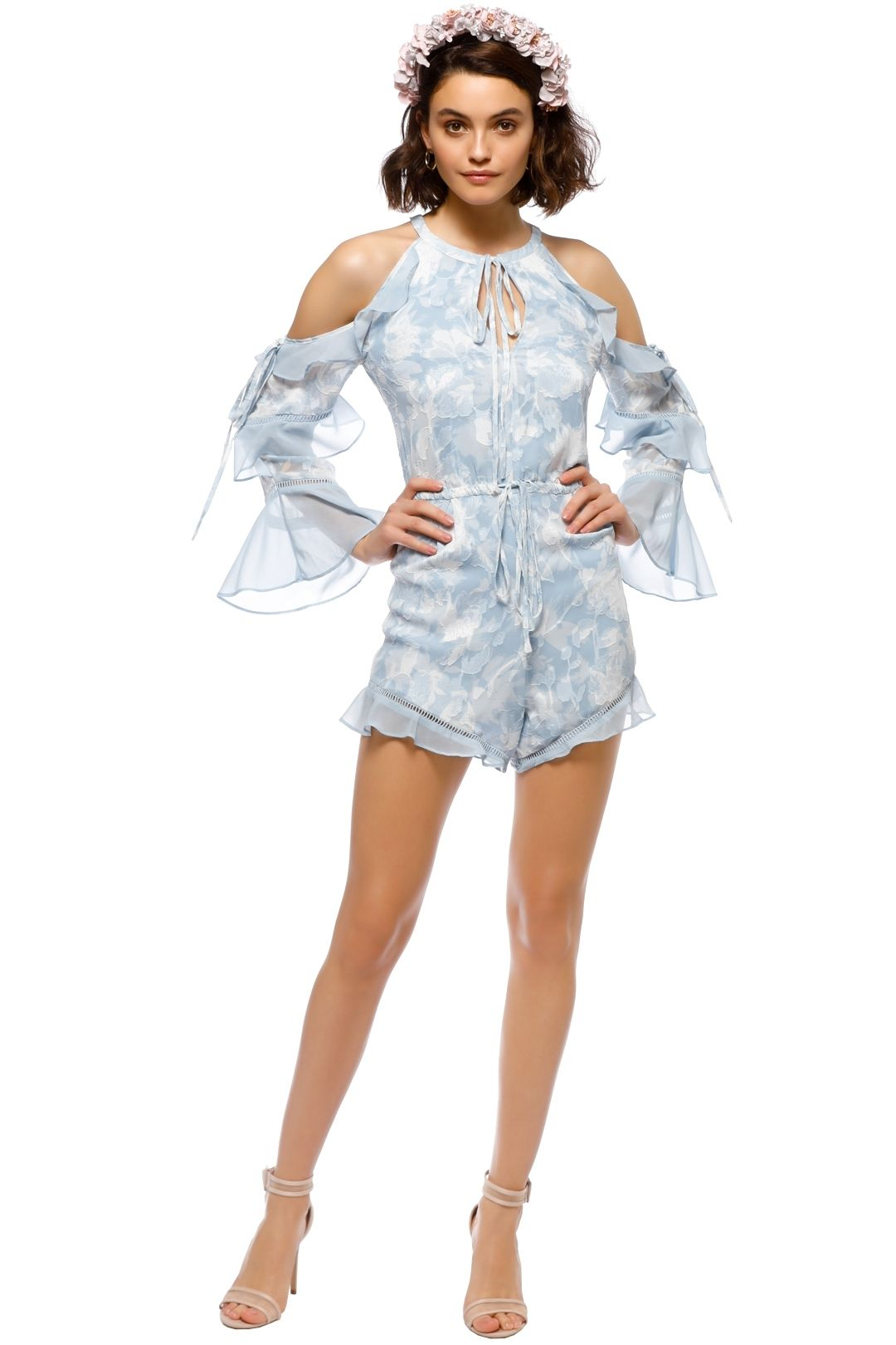 We Are Kindred - Morning Frost Romper - Blue - Front