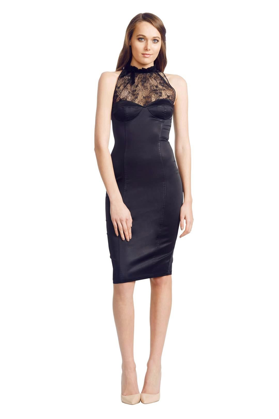 Wheels & Dollbaby - Uptown Girl - Black - Front