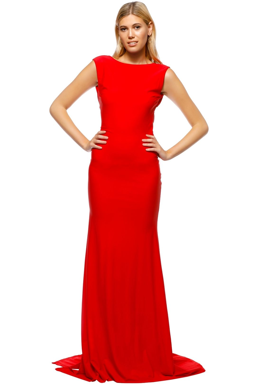 When Freddie Met Lilly - Anastasia Gown - Red - Front