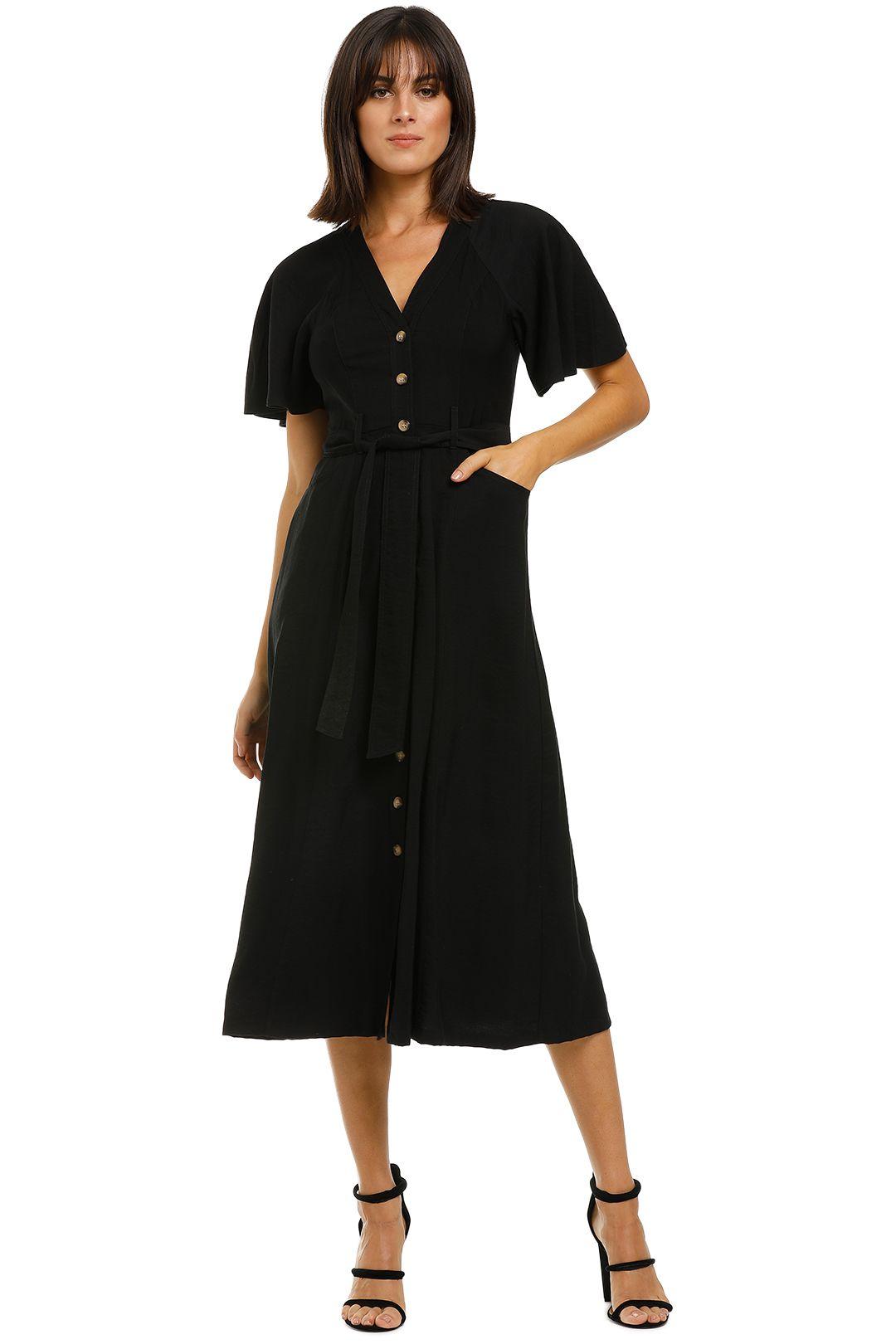 Whistles-Anita-Frill-Sleeve-Dress-Front