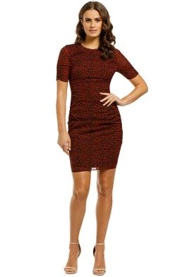 Whistles-Mini-Ikat-Animal-Print-Silk-Bodycon-Front