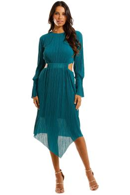 Willow - Pleat Cut Away Dress