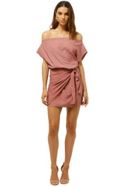 Wish-Close-Enough-Dress- Dusty-Rose-Front