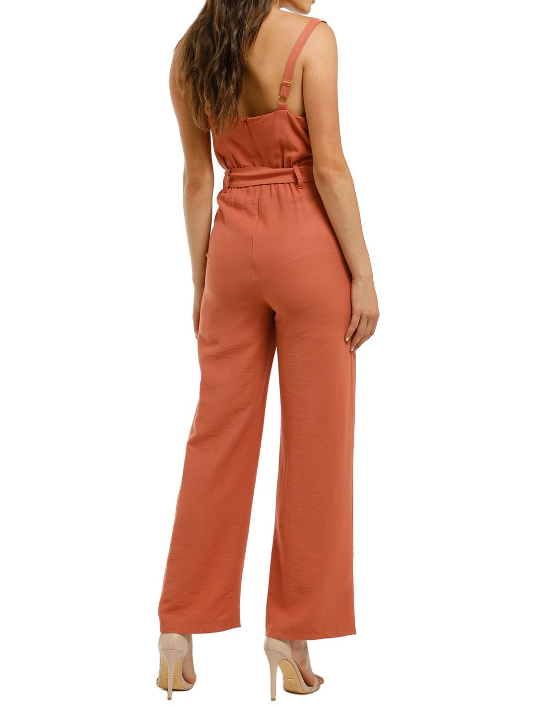 Wish-Frida-Jumpsuit-Terracotta-Back
