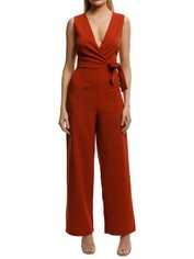 WISH-Moments-Jumpsuit-Rust-Front